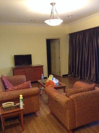 Beta Service Apartment: Living hall