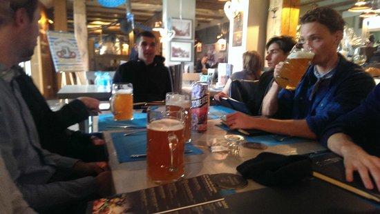 Brovarnia Gdansk: Store øl til frokost
