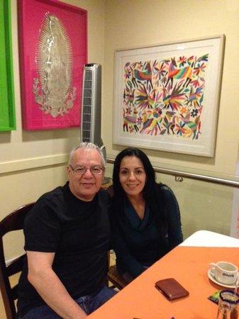 El Bajio Refoma: Enjoying Our Lunch