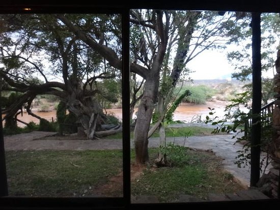 Sarova Shaba Game Lodge: View from Front of Room