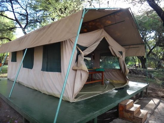 Sarova Shaba Game Lodge: Massage Tent