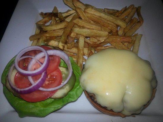 Boswell's Restaurant: Hamburger plattet