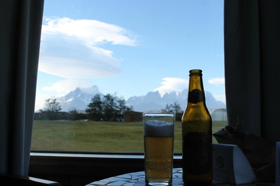Hotel del Paine: Vista do quarto do hotel - Torres del paine