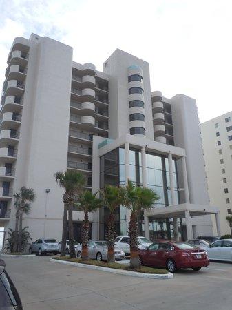 """Tropic Shores Resort: View of front of """"resort"""""""