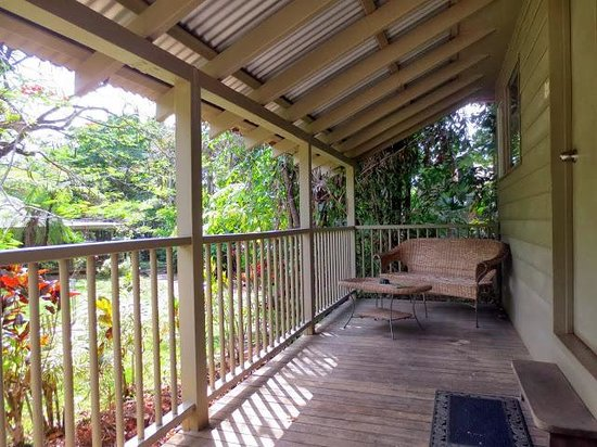 Ferntree Rainforest Lodge: Our front porch