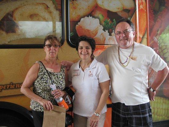 Cajun Food Tours: Johanne, Marie and Richard