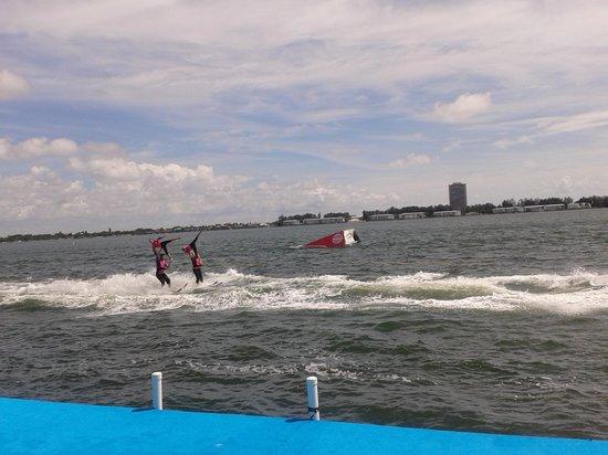 Sarasota Ski-A-Rees Water Ski Show : Water Ski