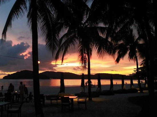 Casa del Mar, Langkawi : Romantic Sunset Dinner