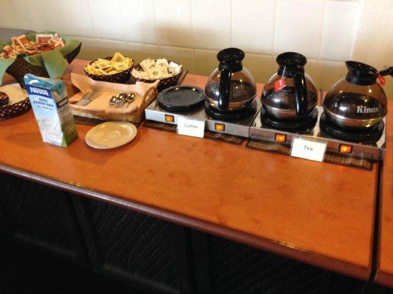 Perhentian Tuna Bay Island Resort: Le buffet