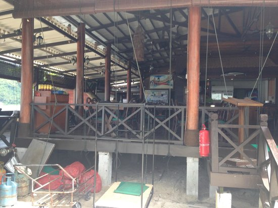 Perhentian Tuna Bay Island Resort: La cantine