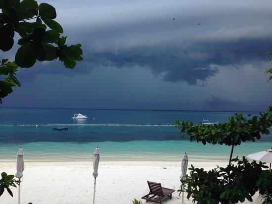 Perhentian Tuna Bay Island Resort: La vue