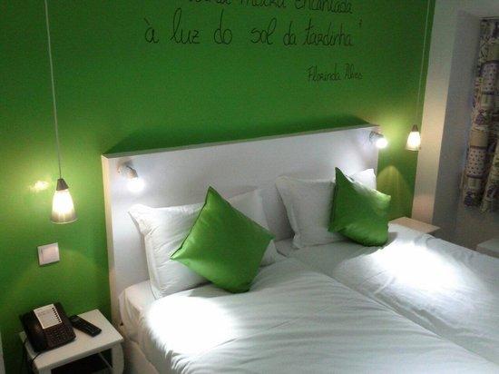 Golden Tram 242 Lisbonne Hostel: Double room