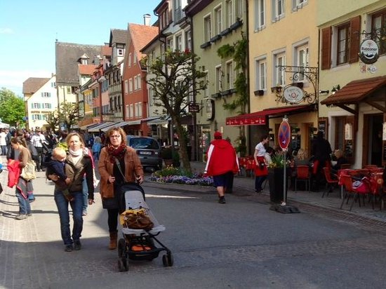 Alte Post: Meersburg lower street