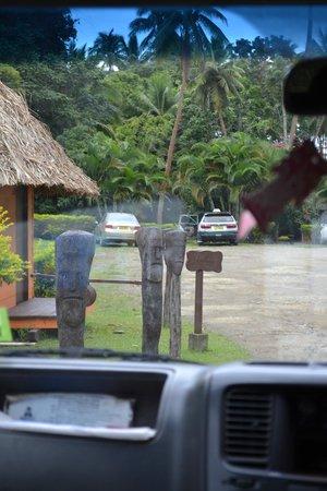 Mango Bay Resort Fiji: Entrada