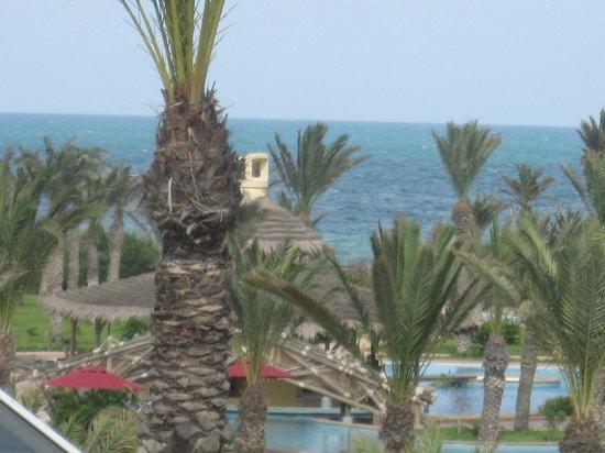 Hasdrubal Prestige Thalassa & Spa : Encontro com o mar Mediterrâneo.