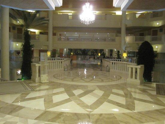 Hasdrubal Prestige Thalassa & Spa : Detalhe do lobby.