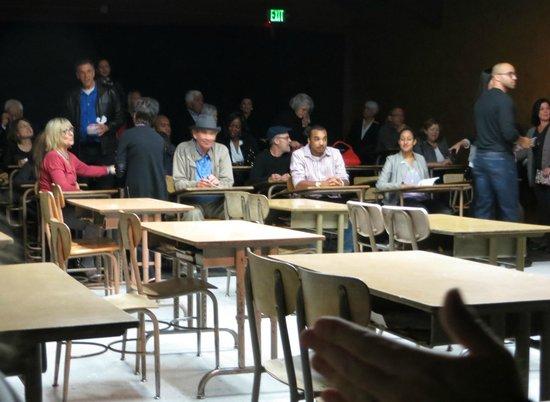 Pasadena Playhouse: the seating arrangements