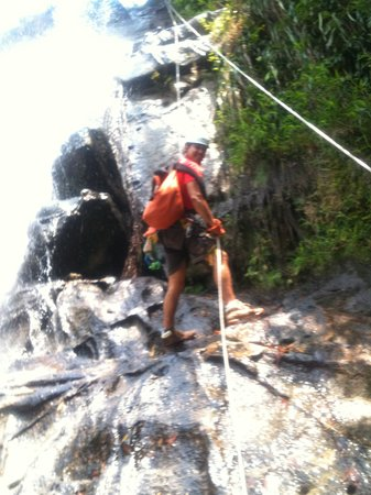 Belize Jungle Masters: Waterfall Rappelling