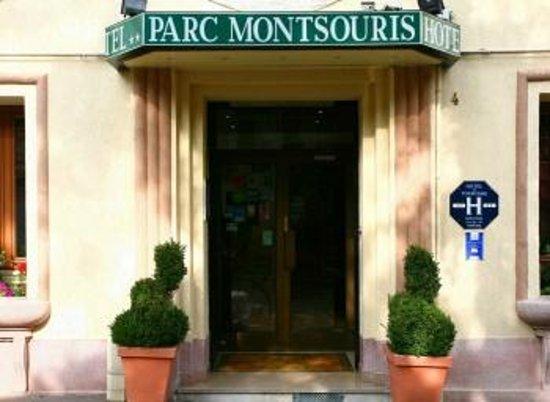 Hotel du Parc Montsouris: entrada