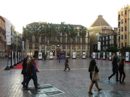 Plaza de la Constitucion : El centro