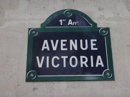 Hotel Victoria Chatelet : Localização