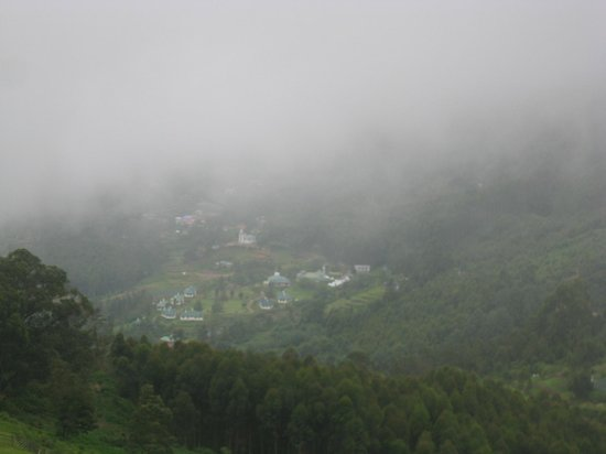 Camp Noel: A misty touch on campnoel from the nearest top point