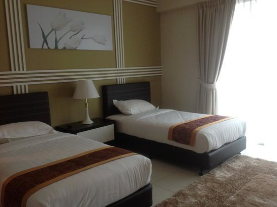 Bayu Marina Resort: twin bed
