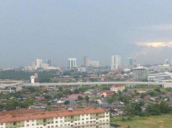 Bayu Marina Resort: view from my room
