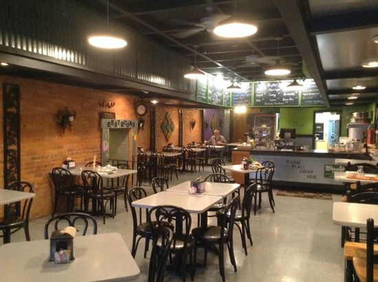 Breadstyx Bistro : View as you walk in