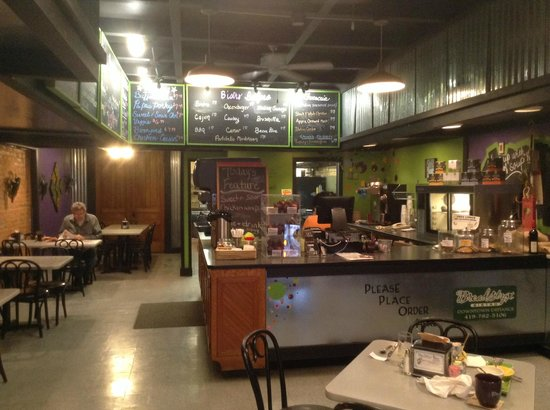 Breadstyx Bistro : Heading to place an order