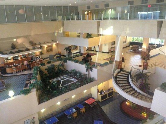 Ramada Orlando Downtown : loved the lobby :)