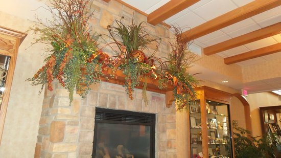 The Marv Herzog Hotel : Above the fire place