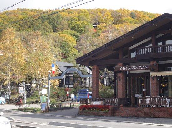 Lake Shirakaba-ko: 素敵なレストラン