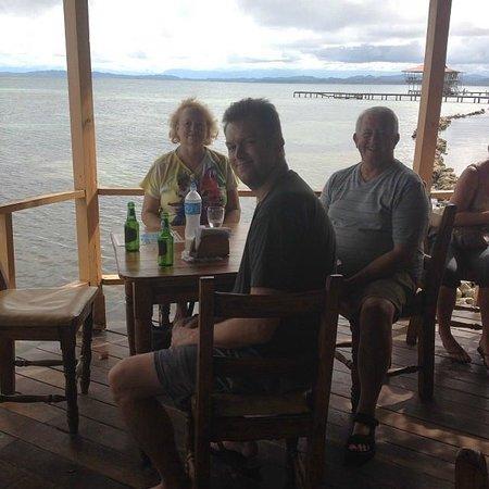 Bibi's on the beach : enjoying the view