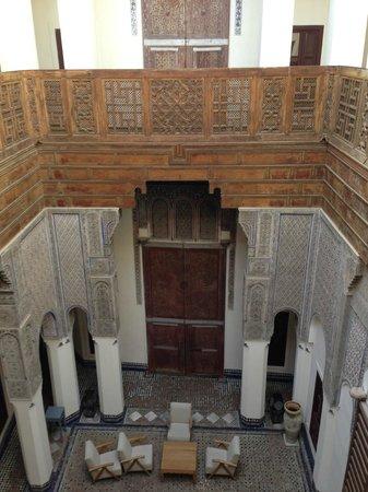 Hotel & Spa Riad Dar Bensouda: view from 2f