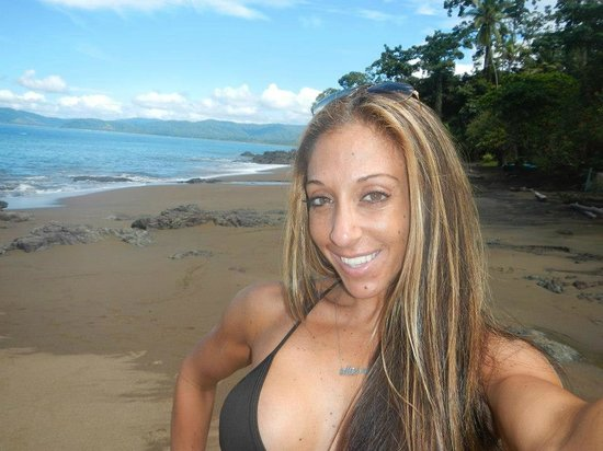 "Copa de Arbol Beach and Rainforest Resort: ""Selfie"" on the beach!"