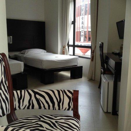 Santa Grand Hotel Bugis : Our room
