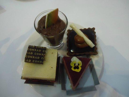 Conrad Punta del Este Resort & Casino: sobremesa