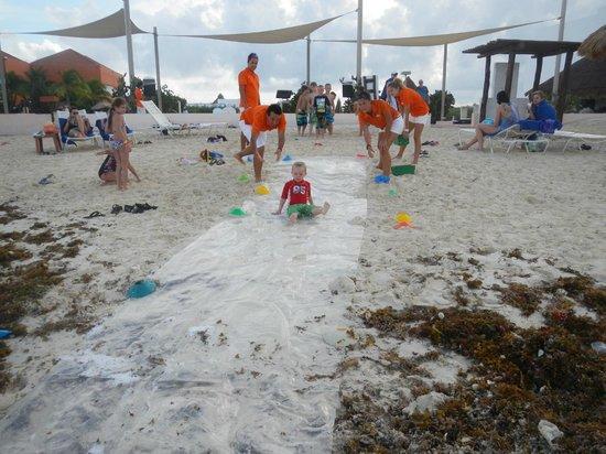Club Med Cancun Yucatan: Slip and slide