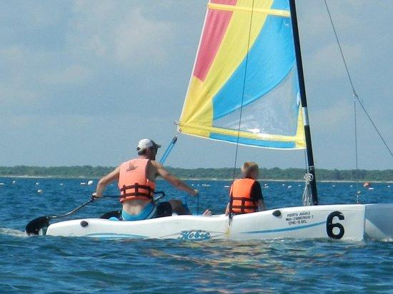 Club Med Cancun Yucatan: Sailing