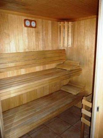 L'Hôtel d'Occitanie : Sauna