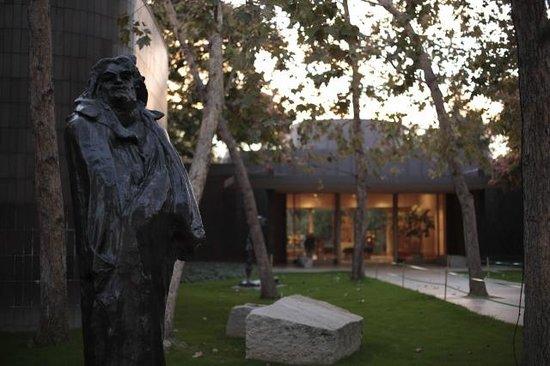 Norton Simon Museum: 入り口