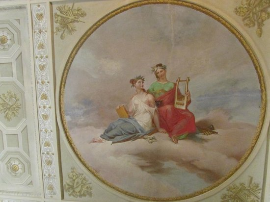 Firenze Number Nine Wellness Hotel: Ceiling in Room