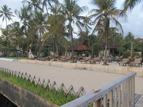 Rama Candidasa Resort & Spa: Overlooking the sea