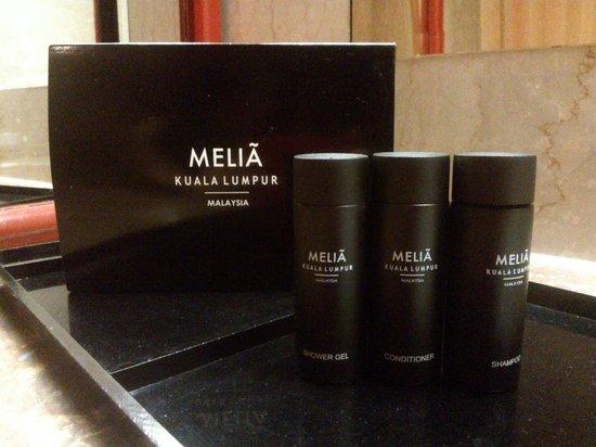 Melia Kuala Lumpur: bathroom amenities