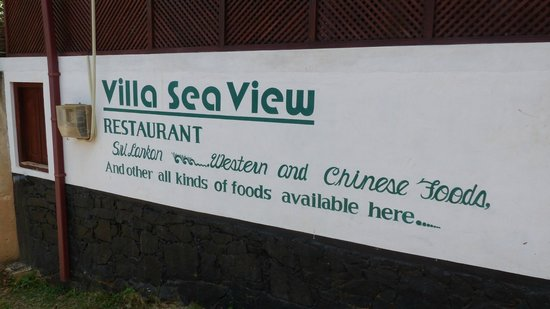 Villa Sea View: restaurant