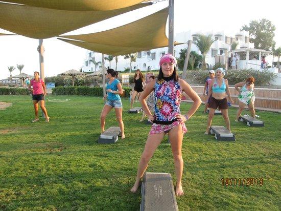 Mercure Hurghada Hotel: степаэробика