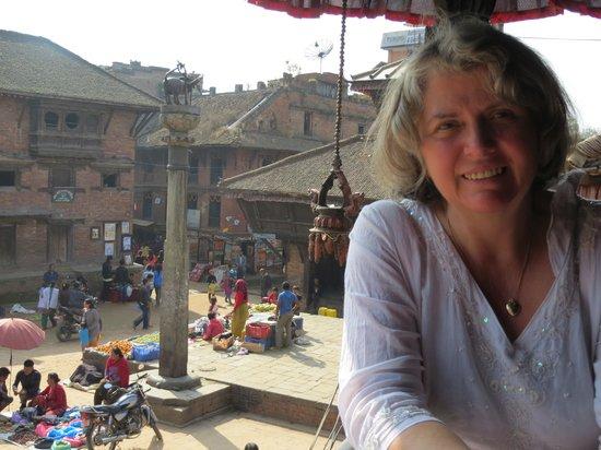 Lumle Holidays - Day Tours: Michele at Bhaktapur