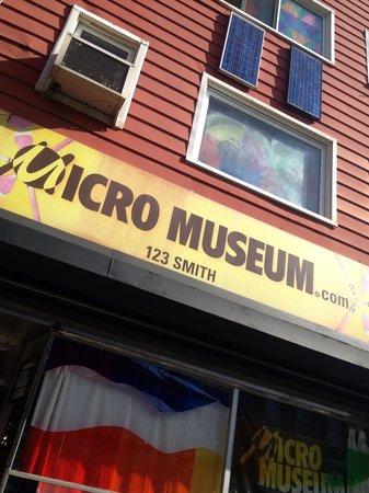 Micro Museum : Open Saturdays 12-7 pm $2