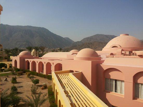 Sofitel Taba Heights : Отель со стороны гор